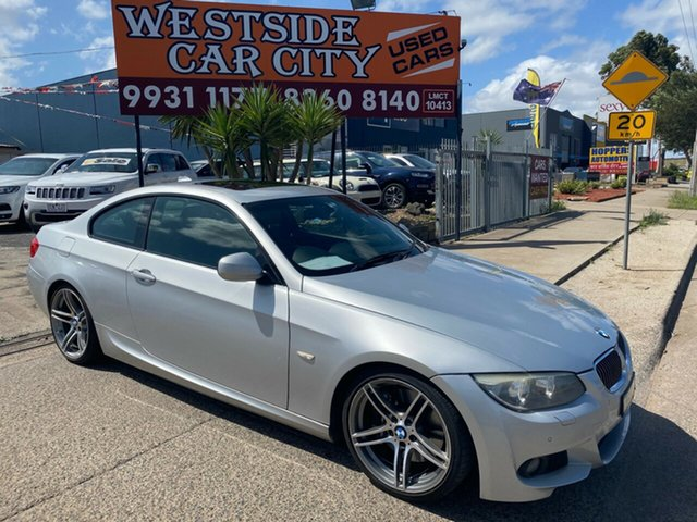 Used BMW 335i E92 MY11 M Sport, 2011 BMW 335i E92 MY11 M Sport Silver 7 Speed Auto Direct Shift Coupe