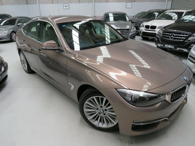 Used BMW 3 Series F34 MY0613 320i Gran Turismo Luxury Line, 2013 BMW 3 Series F34 MY0613 320i Gran Turismo Luxury Line Kalahari Beige 8 Speed Sports Automatic