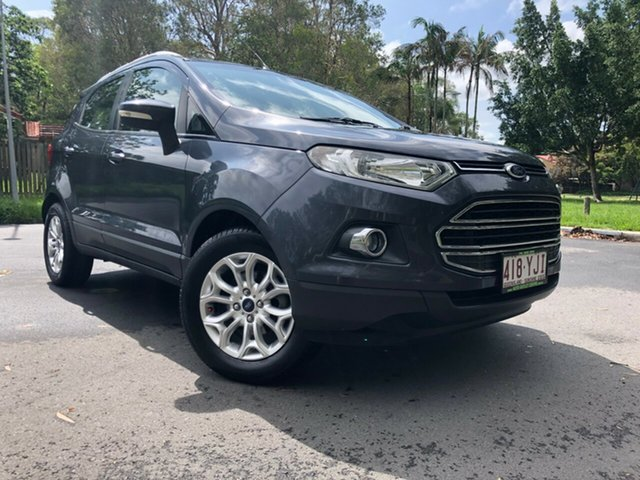 Used Ford Ecosport BK Titanium 1.5, 2014 Ford Ecosport BK Titanium 1.5 Grey 6 Speed Direct Shift Wagon