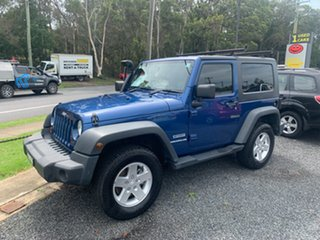 2010 Jeep Wrangler JK sport 3.8 ltr 2door Blue 5 Speed Manual Hardtop.
