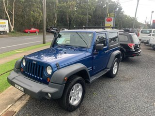 2010 Jeep Wrangler JK sport 3.8 ltr 2door Blue 5 Speed Manual Hardtop