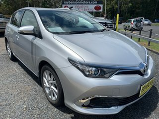 2018 Toyota Corolla Sports Silver 6 Speed Automatic Hatchback.