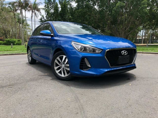 Used Hyundai i30 PD Active, 2018 Hyundai i30 PD Active Blue 6 Speed Auto Sequential Hatchback