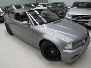 2003 BMW M3 E46 MY2003 SMG Titanium Silver 6 Speed Seq Manual Auto-Clutch Convertible.