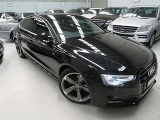 2014 Audi A5 8T MY14 Sportback S Tronic Quattro Phantom Black 7 Speed Sports Automatic Dual Clutch.