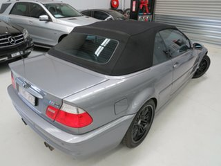 2003 BMW M3 E46 MY2003 SMG Titanium Silver 6 Speed Seq Manual Auto-Clutch Convertible