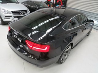 2014 Audi A5 8T MY14 Sportback S Tronic Quattro Phantom Black 7 Speed Sports Automatic Dual Clutch