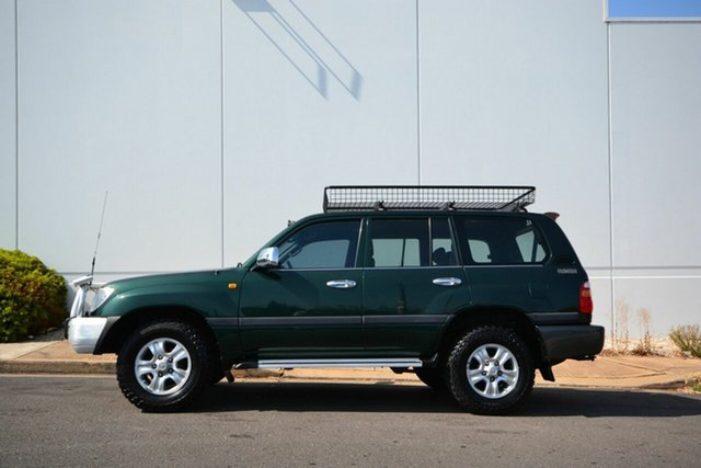 Used Toyota Landcruiser HDJ100R GXL (4x4), 2000 Toyota Landcruiser HDJ100R GXL (4x4) Green 5 Speed Manual 4x4 Wagon