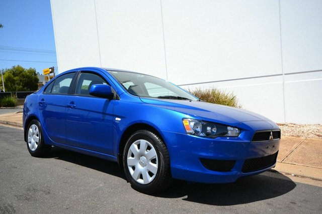 Used Mitsubishi Lancer CJ MY11 ES, 2011 Mitsubishi Lancer CJ MY11 ES Blue 6 Speed CVT Auto Sequential Sedan