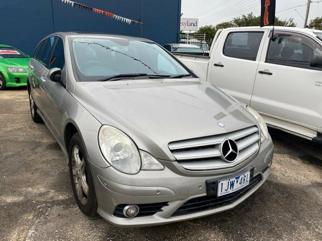 Used Mercedes-Benz R 251 MY08 320 CDI Luxury (AWD) Hoppers Crossing, 2007 Mercedes-Benz R 251 MY08 320 CDI Luxury (AWD) Gold 7 Speed Automatic G-Tronic Wagon