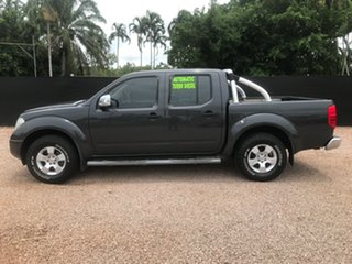 2009 Nissan Navara D40 ST-X Grey 5 Speed Automatic Utility.