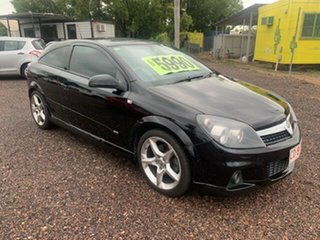 2008 Holden Astra Turbo Black 6 Speed Manual Hatchback.