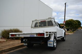 2013 Holden Colorado RG LX (4x4) White 6 Speed Automatic Crew Cab Chassis