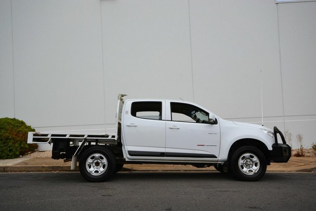 Used Holden Colorado RG LX (4x4), 2013 Holden Colorado RG LX (4x4) White 6 Speed Automatic Crew Cab Chassis
