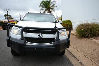 2013 Holden Colorado RG LX (4x4) White 6 Speed Automatic Crew Cab Chassis.