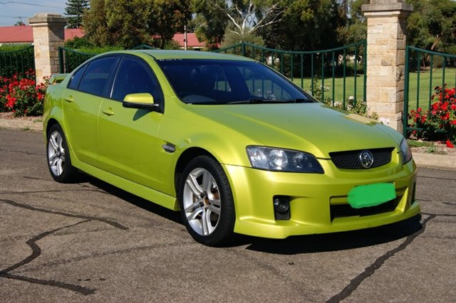 Used Holden Commodore VE MY08 SV6, 2008 Holden Commodore VE MY08 SV6 Yellow 5 Speed Automatic Sedan