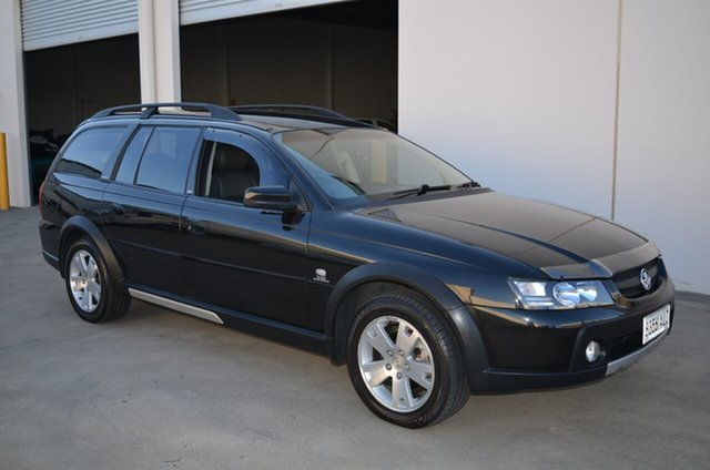 Used Holden Adventra VZ MY06 Upgrade CX6, 2006 Holden Adventra VZ MY06 Upgrade CX6 Black 5 Speed Automatic Wagon