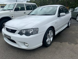2007 Ford Falcon BF MkII XR6 White 6 Speed Tiptronic Sedan