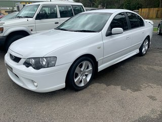 2007 Ford Falcon BF MkII XR6 White 6 Speed Tiptronic Sedan.