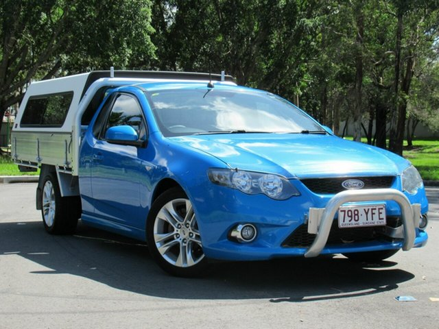 Used Ford Falcon FG XR6 Ute Super Cab, 2011 Ford Falcon FG XR6 Ute Super Cab Blue 6 Speed Sports Automatic Utility
