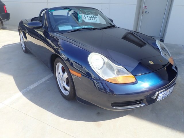 Used Porsche Boxster 986 , 1997 Porsche Boxster 986 Cobalt Blue 5 Speed Sports Automatic Convertible