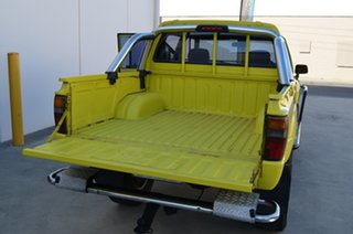 1985 Toyota Hilux LN65 (4x4) Yellow 5 Speed Manual 4x4 Dual Cab Pick-up