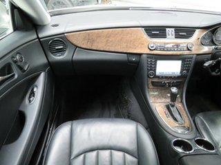 2007 Mercedes-Benz CLS350 C219 MY07 Coupe Cubanite Silver 7 Speed Sports Automatic Sedan