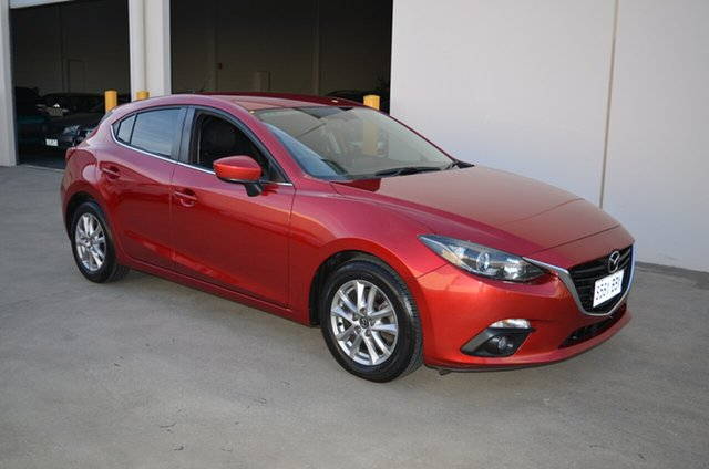 Used Mazda 3 BM Maxx, 2014 Mazda 3 BM Maxx Red 6 Speed Manual Hatchback