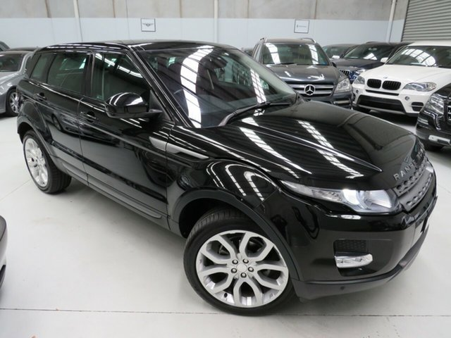 Used Land Rover Range Rover Evoque L538 MY14 TD4 Pure, 2014 Land Rover Range Rover Evoque L538 MY14 TD4 Pure Santorini Black 9 Speed Sports Automatic Wagon