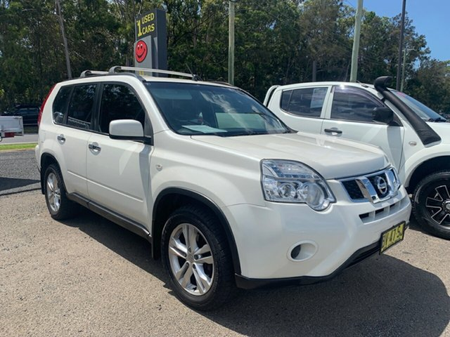 Used Nissan X-Trail T31 , 2013 Nissan X-Trail T31 ST 4X4 AUTO  White 6 Speed Automatic Wagon