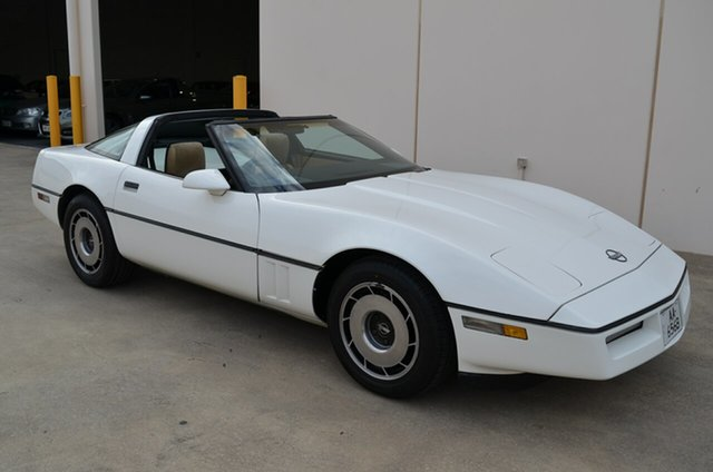 Used Chevrolet Corvette C4 , 1984 Chevrolet Corvette C4 White Automatic Coupe