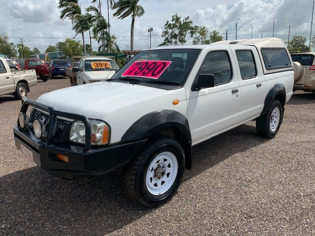 Used Nissan Navara  DX, 2005 Nissan Navara DX White 5 Speed Manual Dual Cab