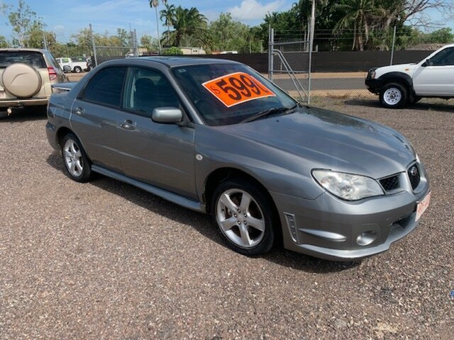 Used Subaru Impreza  RX, 2007 Subaru Impreza RX Grey 5 Speed Manual Sedan