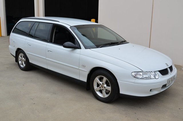 Used Holden Commodore VX II Acclaim, 2002 Holden Commodore VX II Acclaim White 4 Speed Automatic Wagon