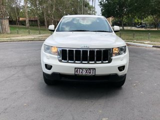 2012 Jeep Grand Cherokee WK Laredo (4x4) White 5 Speed Automatic Wagon