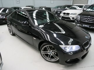 2014 BMW 320d E92 MY12 Black 6 Speed Auto Steptronic Coupe.