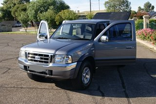 2005 Ford Courier PH XLT (4x4) Grey 5 Speed Manual Crew Cab Pickup