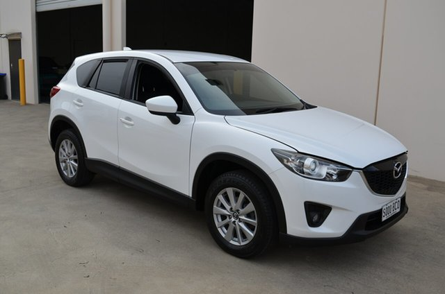 Used Mazda CX-5 MY13 Upgrade Maxx Sport (4x4), 2014 Mazda CX-5 MY13 Upgrade Maxx Sport (4x4) White 6 Speed Automatic Wagon