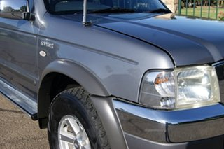 2005 Ford Courier PH XLT (4x4) Grey 5 Speed Manual Crew Cab Pickup.