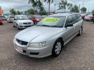2007 Holden Commodore VZ SVZ Silver 4 Speed Auto Active Select Wagon.