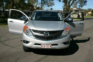 2014 Mazda BT-50 UP0YF1 XTR Freestyle Silver 6 Speed Sports Automatic Utility