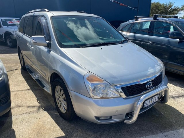 Used Kia Carnival VQ MY11 S, 2010 Kia Carnival VQ MY11 S Silver 4 Speed Automatic Wagon