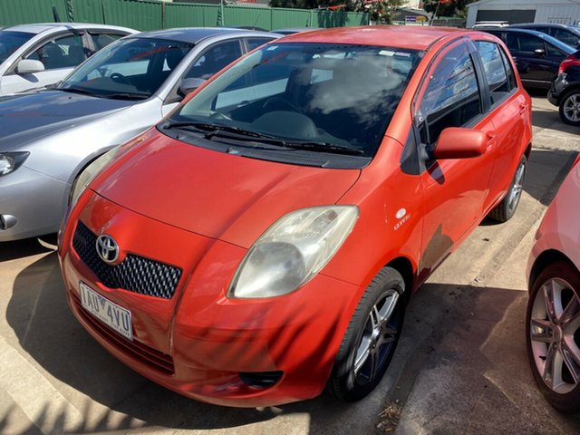Used Toyota Yaris NCP91R YRS Hoppers Crossing, 2006 Toyota Yaris NCP91R YRS Orange 5 Speed Manual Hatchback