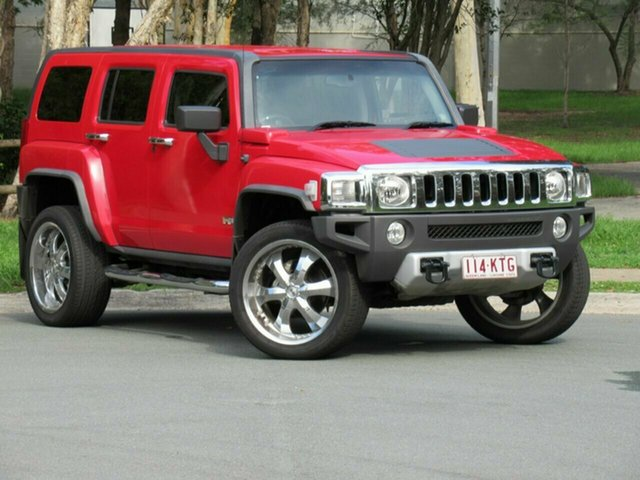 Used Hummer H3  Adventure, 2007 Hummer H3 Adventure Red 5 Speed Manual Wagon