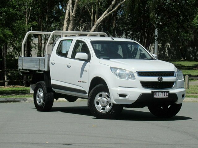 Used Holden Colorado RG MY13 LX, 2013 Holden Colorado RG MY13 LX White Dual Cab