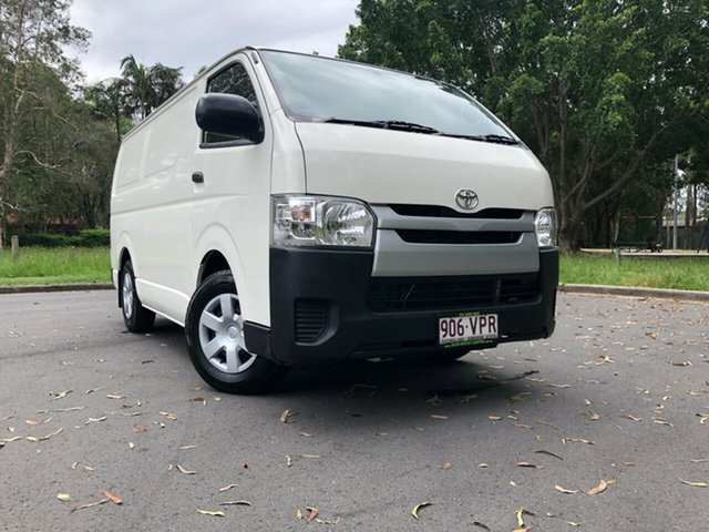 Used Toyota HiAce TRH201R MY14 LWB, 2015 Toyota HiAce TRH201R MY14 LWB White 5 Speed Manual Van