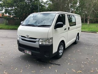 2015 Toyota HiAce TRH201R MY14 LWB White 5 Speed Manual Van