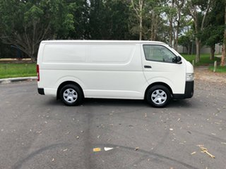2015 Toyota HiAce TRH201R MY14 LWB White 5 Speed Manual Van.