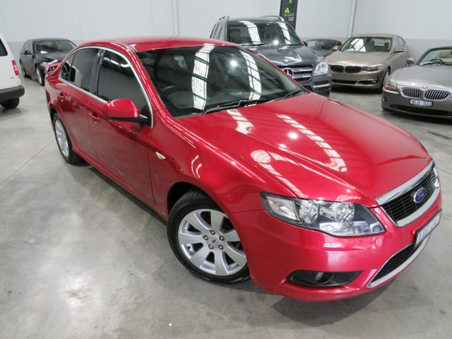 Used Ford Falcon FG G6, 2009 Ford Falcon FG G6 Tango Red 5 Speed Sports Automatic Sedan
