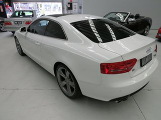 2010 Audi A5 8T MY10 S Tronic Quattro White 7 Speed Sports Automatic Dual Clutch Coupe